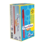 Papermate Inkjoy 100 Red Stick Ball Pk50