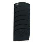 Safco Black 7-Pocket Wall Rack Steel