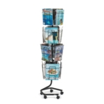 Safco Rotating Display Unit 16xA4 Pocket