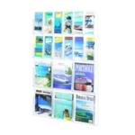 Safco 18 Pocket Combi Deluxe Display