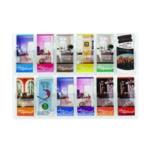 Safco 12 Pocket Deluxe Pamphlet Rack