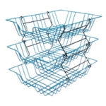 A4 Blue Coated Wire Filing Tray 999BL