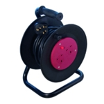 CED H/Duty 2-Gang Extension Reel 25m