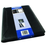 Monolith Zipped Conf Folder Calc A4 Blk