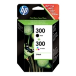 HP 300 Black/Colour Ink Twin PkCN637EE