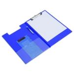 Rapesco Foldover Clipboard Fs Blue