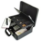 Helix Petty Cash Box Anthracite CM5020