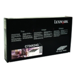 Lexmark C734X24G Photoconductor Unit Pk4