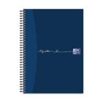 Oxford Ruled Card Notebook A4 Pk5