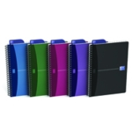 Oxford Poly Opaque Notebook A5 Pk5