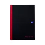 Black n Red H/bk A4 Smart Ruled Notebook
