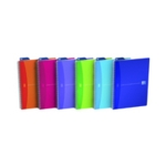 Oxford Poly Translucent Notebook A4 Pk5