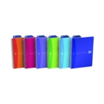 Oxford Poly Translucent Notebook A5 Pk5