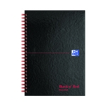 Black n Red A5 GL Hardback Wire Notebook