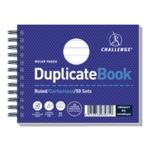 Challenge Duplicate Book 105x130mm Pk5