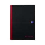 Black n Red Book A4 Feint Ruled Pk5