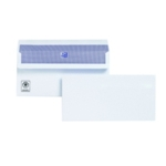 Plus Fabric DL Env Self Seal White Pk500