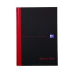 Black n Red A-Z Index A5 Notebook Pk5