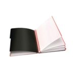 Black n Red A4 Project Book 200Pgs Pk3
