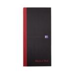 Black n Red Book 297x140mm Ruled Pk5