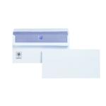 Plus Fabric DL Env Self Seal White Pk250