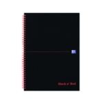 Black n Red A4 Indexed Wiro Notebook