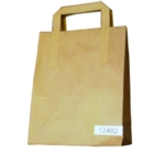 Paper Takeaway Bag Brown Pk250