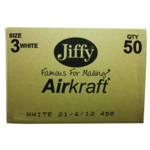 Jiffy Airkraft 220x320mm White Pk50
