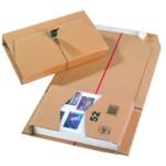 Brown 251x165x60mm Mailing Box Pk20