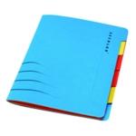 Jalema Secolor Sixtab 6PtFile A4 Blu P5
