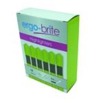 Ergo-Brite Yellow Ergo Highlighters Pk10