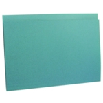 Guildhall Sq Cut Folder Hvy Wt Blu Pk100