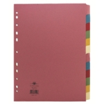Concord 12-Part Subject Divider A4 Astd