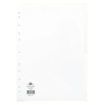 Concord 20-Part Subject Divider Wht A4