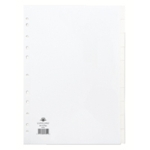 Concord 10-Part Subject Divider Wht A4