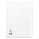 Concord 5-Part Subject Divider Wht A4