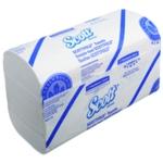 Scott Folding Hand Towel White Pk25 6633