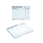 Q-Connect Petty Cash Voucher Pad Pk10