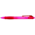 Q-Connect Retractable Ballpoint Red Pk10