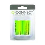 Q-Connect Size C Batteries Pk2