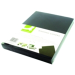 Q-Connect Black A4 Binding Covers Pk100