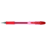 Q-Connect Quick Dry Gel Pen Red Pk12