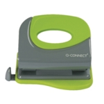 Q-Connect Soft Grip Metal Hole Punch