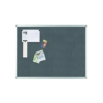 Q-Connect Noticeboard 1200x900mm Grey
