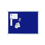 Q-Connect Noticeboard 900x600mm Blue