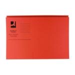 Q-Connect Sq Cut Folder 250g Ornge Pk100