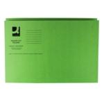 Q-Connect Sq Cut Folder 250g Green Pk100