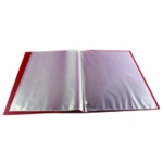 Q-Connect Display Book 10 Pocket Red