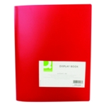 Q-Connect Display Book 40 Pocket Red
