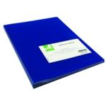 Q-Connect Display Book 40 Pocket Blue